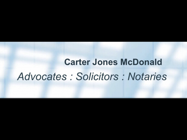 Carter Jones McDonald